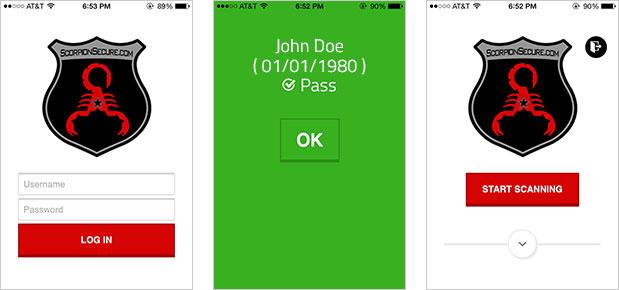 Scorpion Secure iPhone App